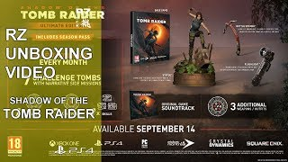 Rz Unboxing Shadow Of The Tomb Raider - Ultimate Edition [PS4]