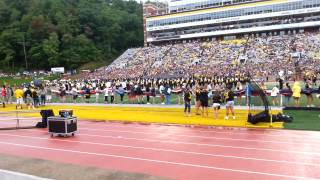 Appalachian State Marching Band pregame show (9/6/14)