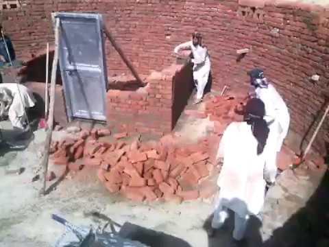 2017 pashto funny dance during work