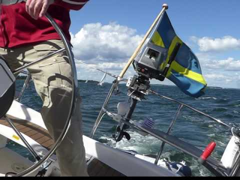 Sailing in Stockholm Archipelago and Baltic Sea