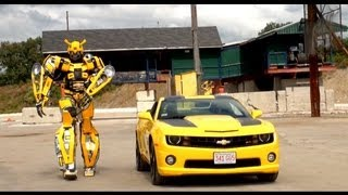 CAMARO BUMBLEBEE | SPECIAL TRANSFORMER APPEARANCE