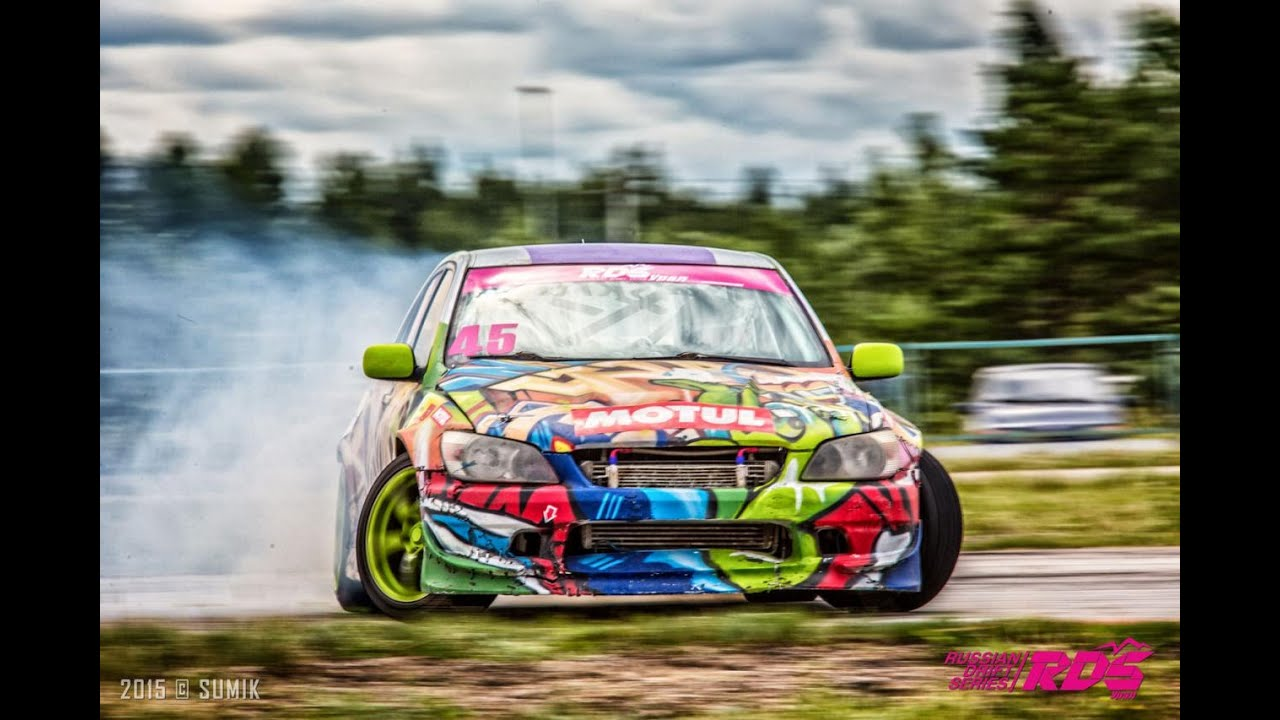 ВЛОГ - Макс на соревнованиях по Дрифту - Гонки на крутых машинах