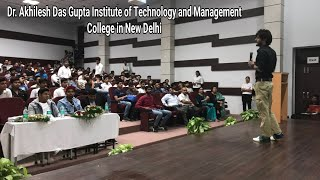 Some Clips From Dr. Akhilesh Das Gupta Institute of Technology and Management College in New Delhi