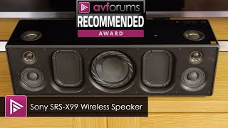 sRS-X99 Review  Sony  SRS-X99 Review
