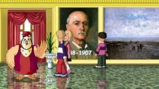 Сказки картинной галереи - Николае Григореску (33 серия) (Уроки тетушки Совы)