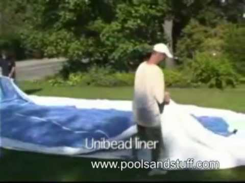Above-Ground Pool Installation, Round Pools | DIY videos from Pools And Stuff