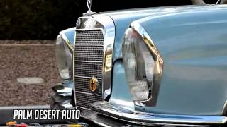 1964 Mercedes-Benz  220SE Coupe Sun Roof  W111 - Palm Desert Auto Sales