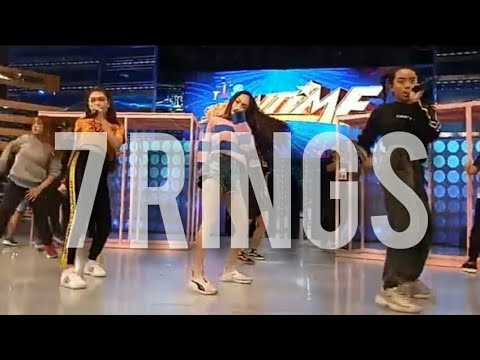 '7 RINGS' (ariana grande) by ASK on It's Showtime | AC, Sheena, Krystal | rehearsal