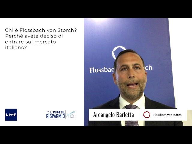 Arcangelo Barletta (Flossbach von Storch) - SdR19