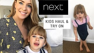 NEXT Kids Haul and Try On