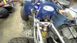 How To Remove Your Yamaha Blaster Engine