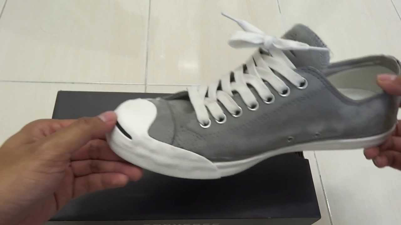 795c744d3af1 Converse Jack Purcell lp (Grey) - YouTube