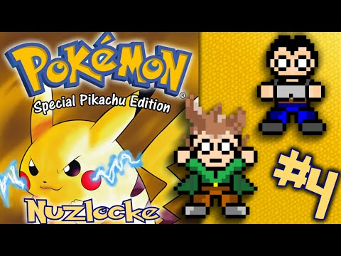 Pokemon Yellow Nuzlocke - Episode 4 - S'all down hill from here...