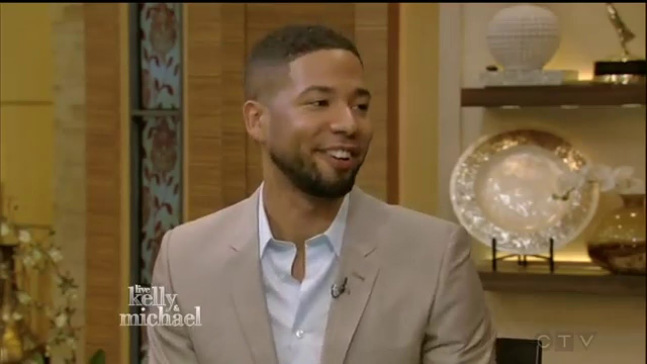 Download Jussie Smollett - interview 2015/Jamal Lyon (EMPIRE) TV SERIES - live with kelly and michael
