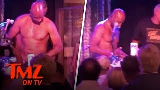 NFL Star Busts Out Stripper Moves! | TMZ TV