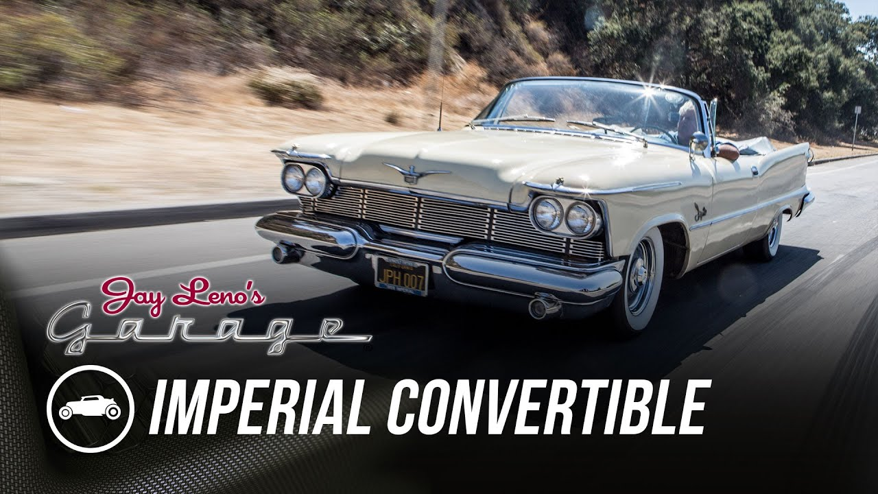1958 Imperial Convertible Jay Leno S Garage