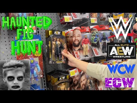 WWE & AEW Toy Hunt (Halloween Episode)  - WWE Elites, AEW Unrivaled, WCW & ECW OSFTM