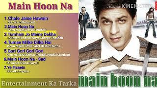 Main Hoon Na All Songs Jukebox | Shah Rukh Khan, Sushmita Sen, Zayed Khan, Amrito Rao | Anu Malik