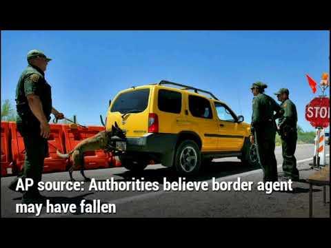AP source: Authorities believe border agent may have fallen