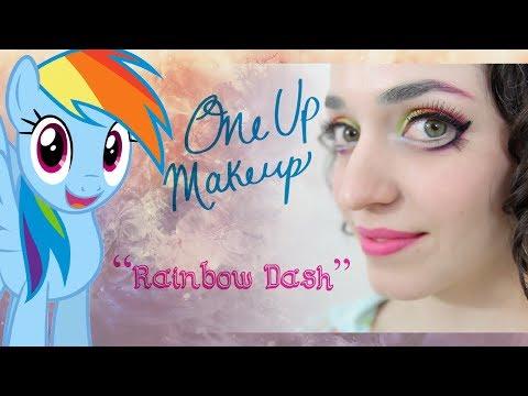 Rainbow Dash (My Little Pony): Makeup Tutorial