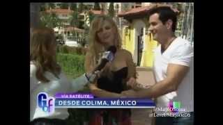 Marjorie de Sousa y David Zepeda desde Colima, Mexico en el Gordo y la Flaca
