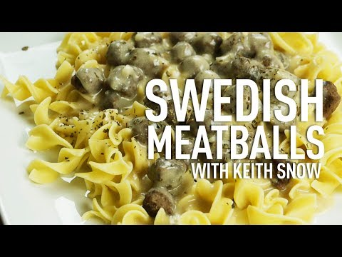 Swedish Meatballs with Chef Keith Snow