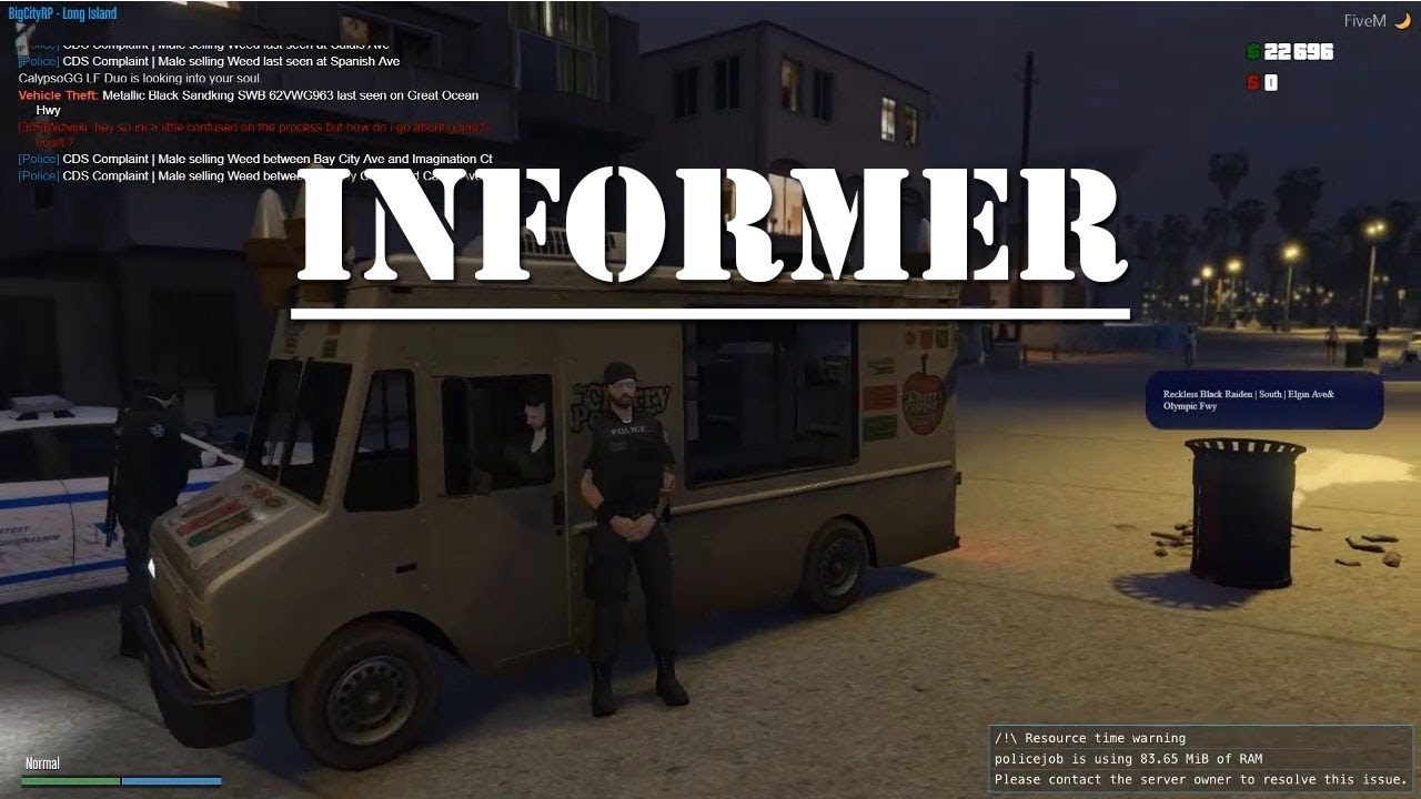 BigCityRP - Information Is Key