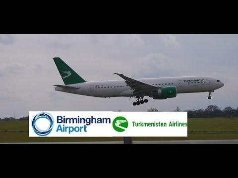 Turkmenistan Airlines Flight 421 (Ashgabat to BHX)