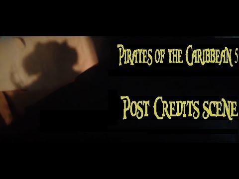 Pirates of the Caribbean 5 Post credits scene