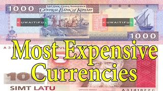 Top 10 Most Expensive Currencies in The World