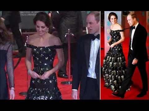 BAFTAs 2017: Prince William and Kate Middleton attend