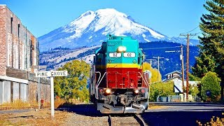 Trains and VOLCANOES! 🌋
