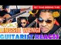 GUITARIST REACTS TO - LINGSIR WENGI ACOUSTIC ALIP_BA_TA - FingerStyle Guitar