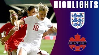England 0-1 Canada | Late Sinclair Goal Snatches Victory | Lionesses