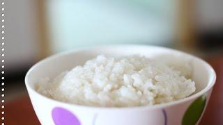 Как варить рис.  Готовим рассыпчатый рис