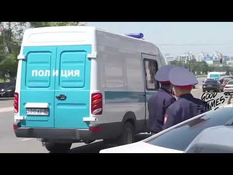 Прикол  )) Неудачные задержания полицией  Красиво ушел от погони  Подборка