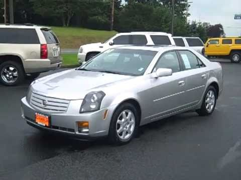 Sold 2007 Cadillac Cts Silver V1974 Enumclaw Seattle