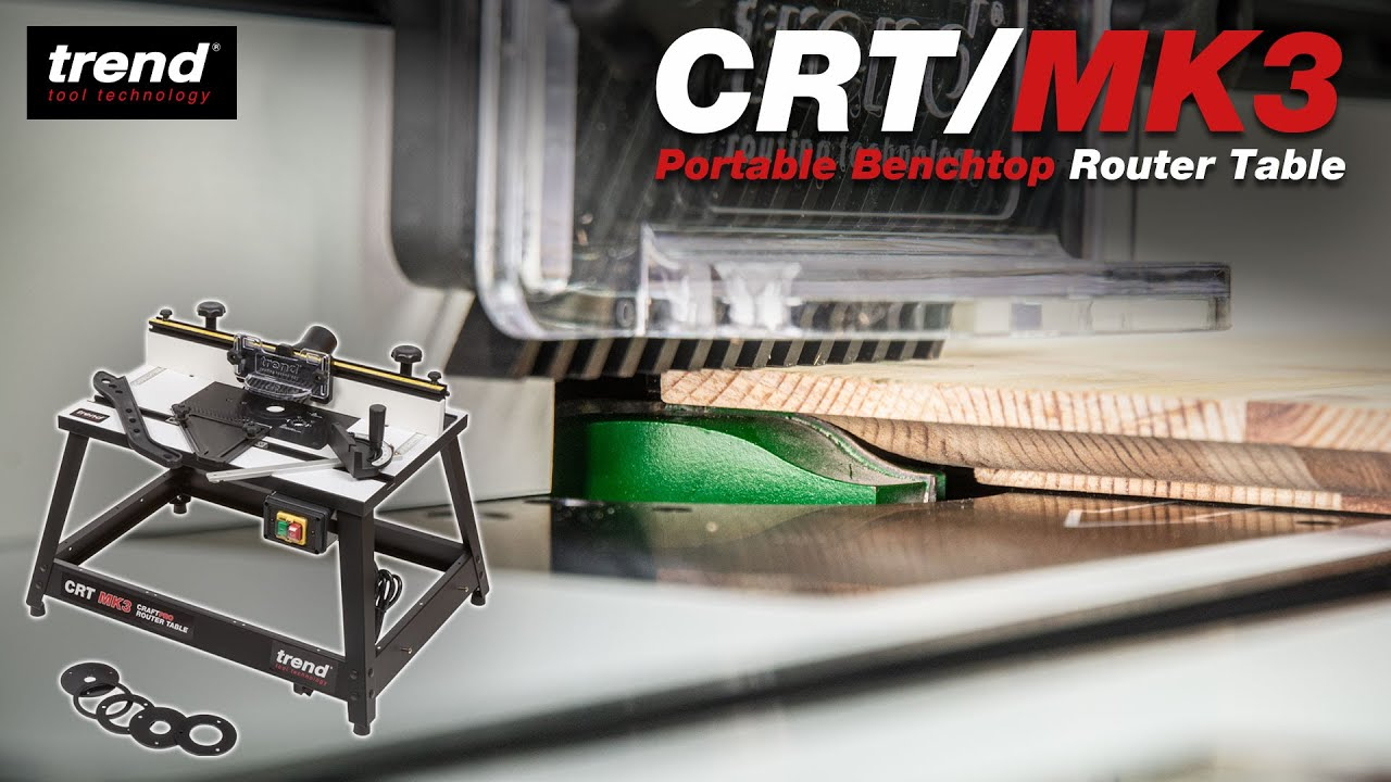 Trend crtmk3 craftpro router table youtube greentooth Choice Image