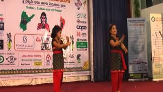 """Sri Sailusha & Siri Vennala Performance for """"Chudi Jo Khanki Hathon Mein Falguni Pathak"""""""