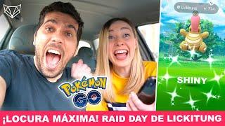 TE VAS A QUEDAR SORDO PERO AÚN ASÍ TIENES QUE VERLO ✨ RAID DAY DE LICKITUNG 👅 Pokémon Go [Neludia]