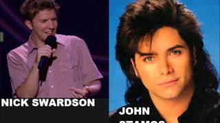 Nick Swardson hires John Stamos for funeral (Comedy Central)