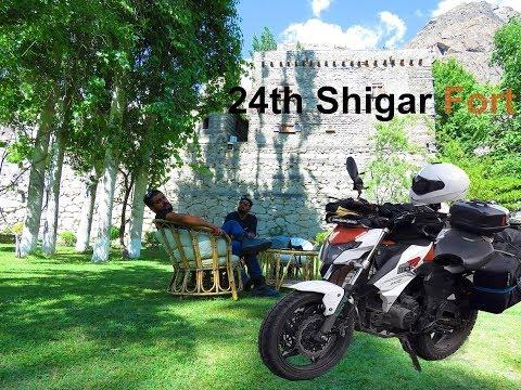 Shigar fort Pakistan Adventure on motorbike trip