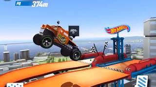 HOT WHEELS RACE ,  Трейлер gameplay,игра для детей,мультик про машинки