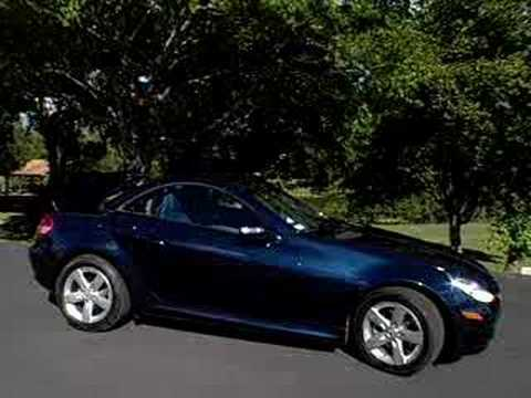 2006 mercedes benz slk 280 promo video youtube. Black Bedroom Furniture Sets. Home Design Ideas
