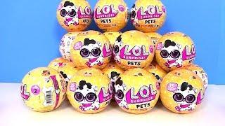 ЛОЛ Питомцы 2 Волна! Видео для детей! Распаковка ЛОЛ! LOL Surprise 3 Series Pets