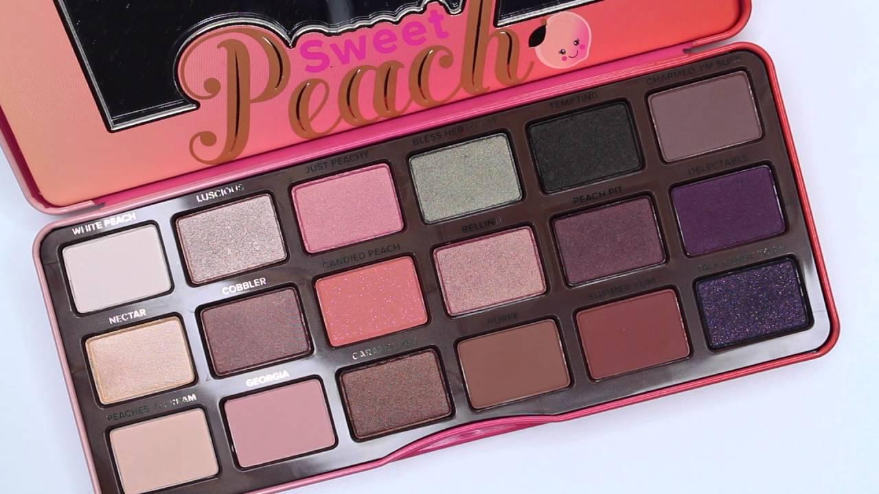sweet peach palette # 83