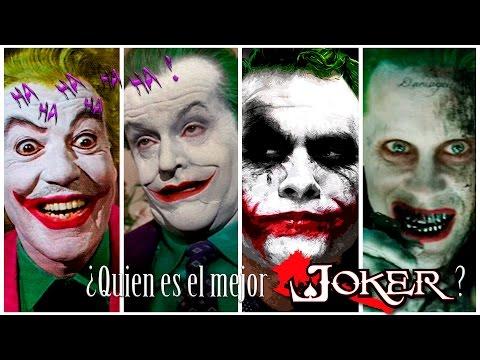 ¿Quién ha sido el mejor JOKER del cine? // TopGeek