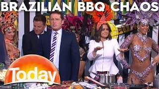 Karl has fun with Brazilian cooking | TODAY Show Australia