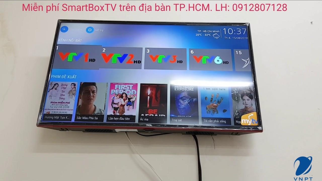 Trải nghiệm truyền hình số HD MYTV VNPT