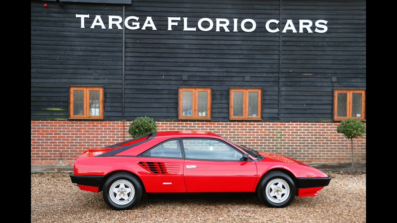 ferrari mondial 8 2 9 v8 1981 for sale at targa florio cars in sussex youtube. Black Bedroom Furniture Sets. Home Design Ideas